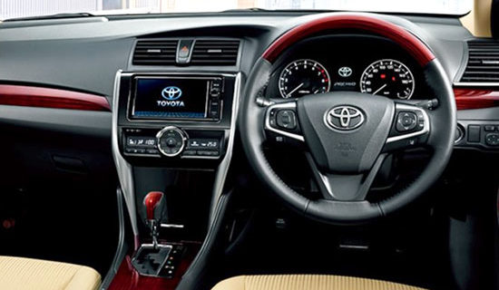 2019 Toyota Allion Interior