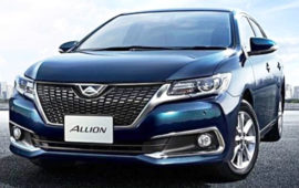 2019 Toyota Allion Review and Engine specs