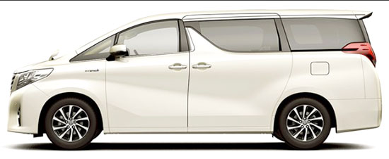 2019 Toyota Alphard Exterior