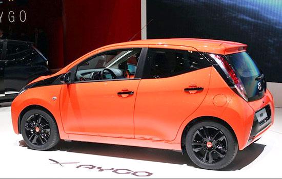 2019 Toyota Aygo Exterior