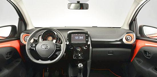 2019 Toyota Aygo Interior