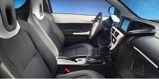 2019 Toyota IQ Interior