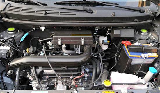 2019 Toyota Wigo Engine
