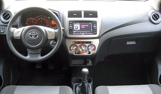 2019 Toyota Wigo Interior
