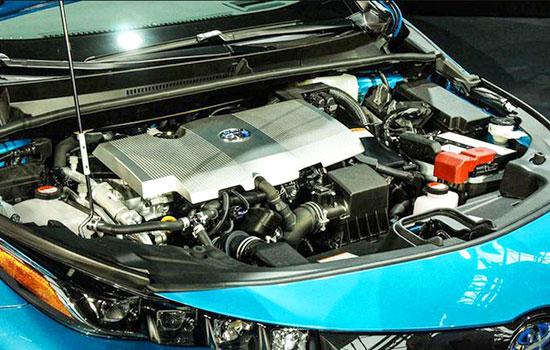 2019 Toyota Prius Plug-in Hybrid Engine