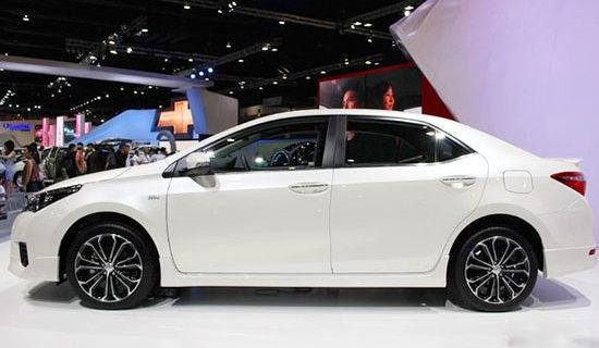 2019 Toyota Altis Exterior