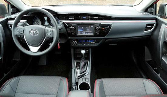 2019 Toyota Avensis Interior