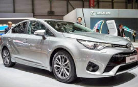 2019 Toyota Avensis Interior Review and Release Date