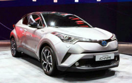 2019 Toyota C-HR Review Engine and Release Date