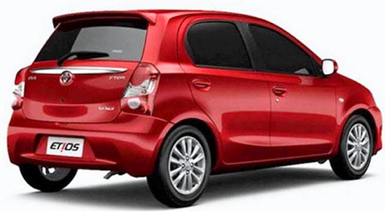 2019 Toyota Etios Exterior