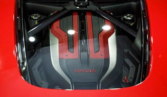 2019 Toyota FT 1 Engine