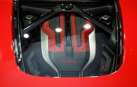 2019 Toyota FT-1 Engine