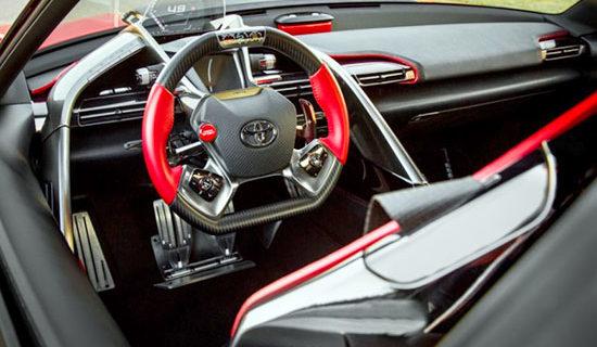 2019 Toyota FT 1 Interior