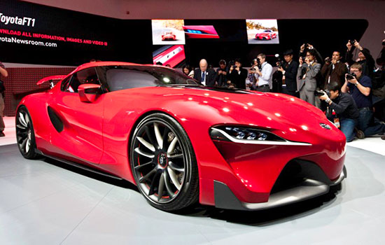 2019 Toyota FT-1 Review and Rumor