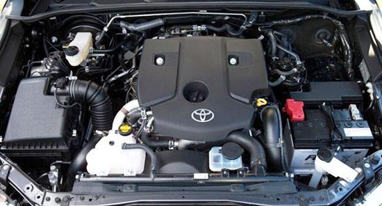 2019 Toyota Fortuner Engine