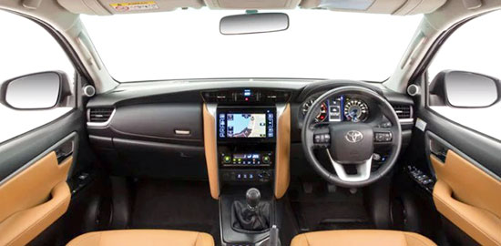 2019 Toyota Fortuner Interior
