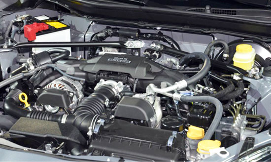 2019 Toyota GT86 Engine