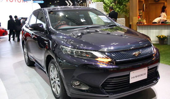 2019 Toyota Harrier Redesign And Price