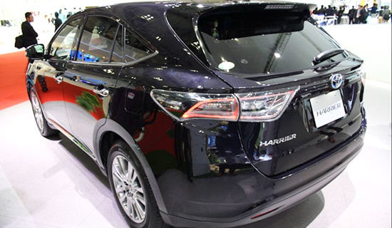 2019 Toyota Harrier Release Date And Price