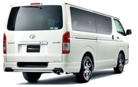 2019 Toyota Hiace Exterior
