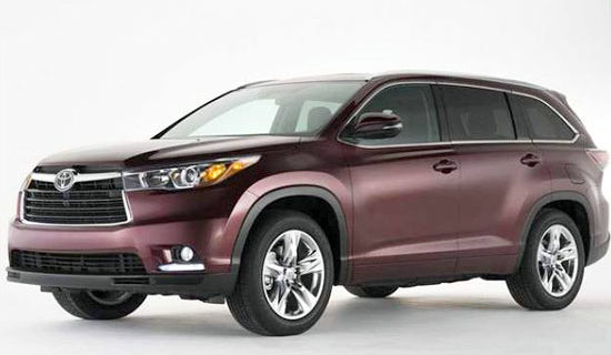 2019 Toyota Highlander Redesign And Release Date