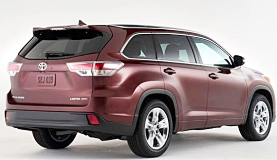 2019 Toyota Highlander Release Pate and Price