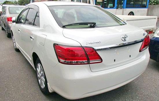 2019 Toyota Premio Exterior