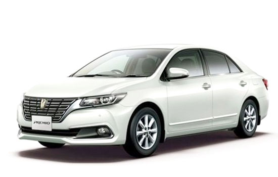 2019 Toyota Premio Review and Price