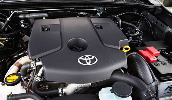 2019 Toyota SW4 Engine