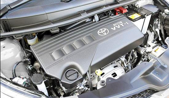 2019 Toyota Urban Cruiser Engine
