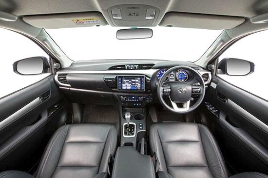 2019 Toyota Hilux Diesel Interior