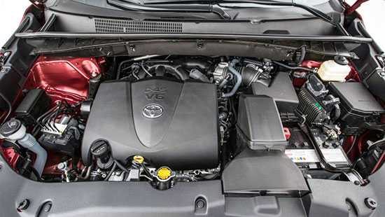2019 Toyota Kluger Engine