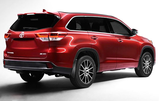 2019 Toyota Kluger Release Date and Price