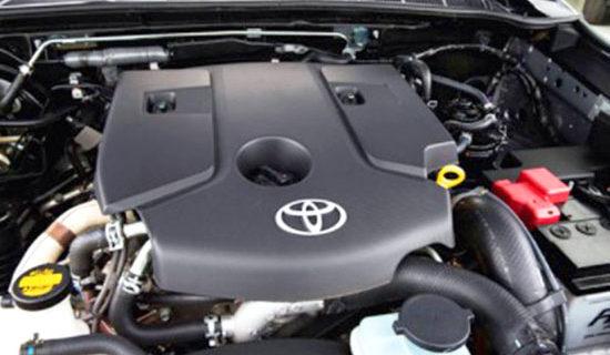 2019 Toyota SW4 Engine