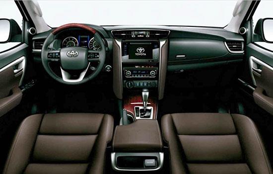 2019 Toyota SW4 Interior