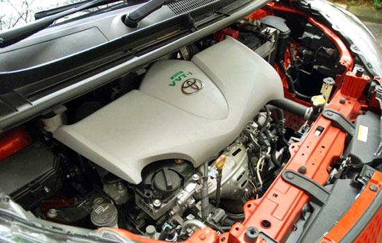 2019 Toyota Sienta Engine
