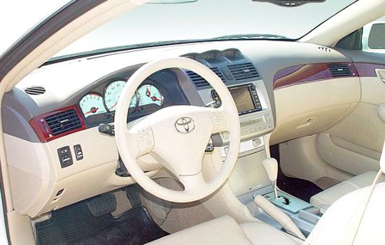 2019 Toyota Solara Interior