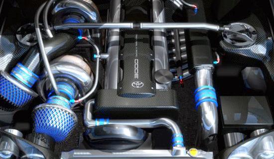 2019 Toyota Supra Engine