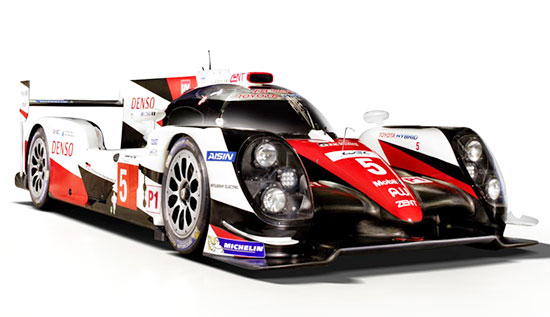 2019 Toyota TS050 Engine and Performance