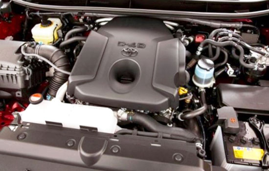 2019 Toyota Tarago Engine