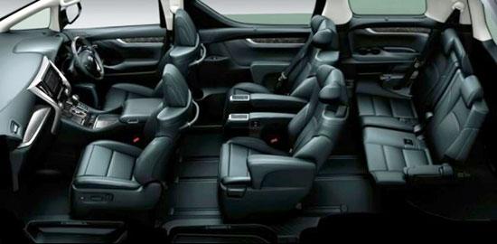 2019 Toyota Vellfire Interior