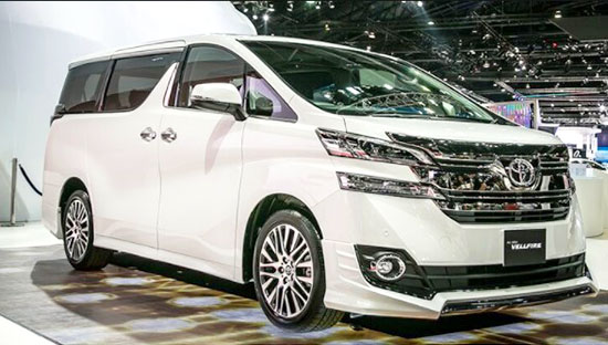 2019 Toyota Vellfire Release Date and Price