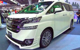 2019 Toyota Vellfire Review, Redesign and Price