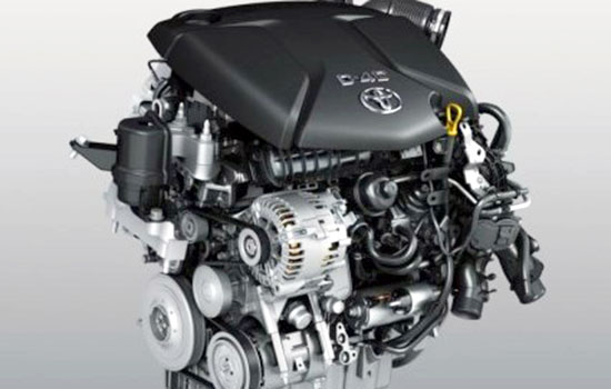 2019 Toyota Verso Engine