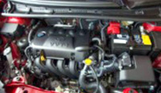 2019 Toyota Vitz Engine