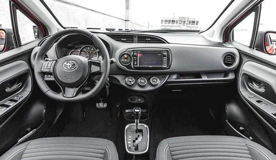 2019 Toyota Vitz Interior