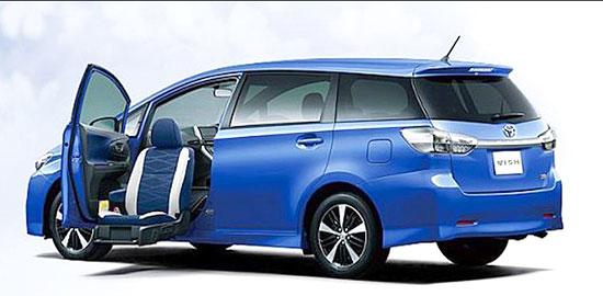 2019 Toyota Wish Exterior