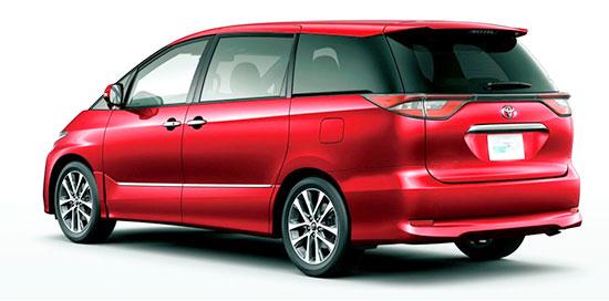 2019 Toyota Tarago Exterior