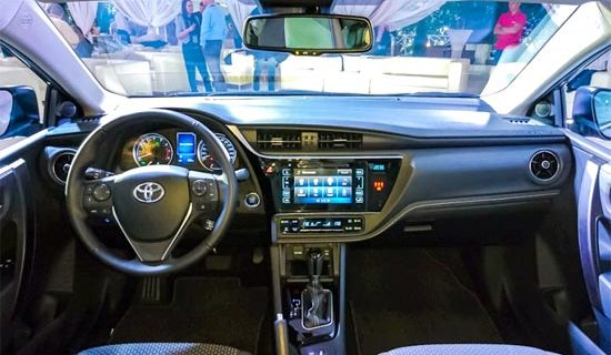 2019 Toyota Corolla Altis Interior