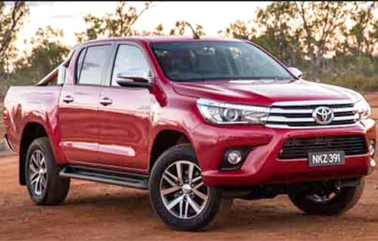2019 Toyota Hilux Concept, Review and Release Date